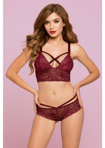 Rose Galloon Lace Bralette
