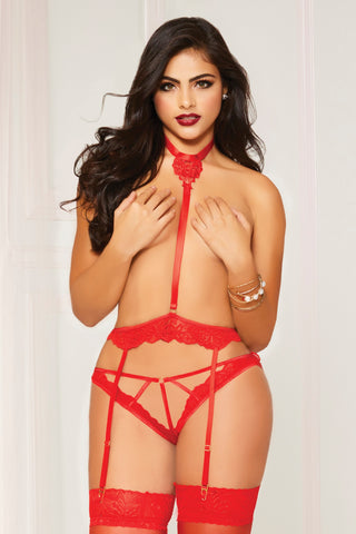Harness & Panty Set