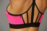 Strike Earn It Sports Bra - Hot Pink