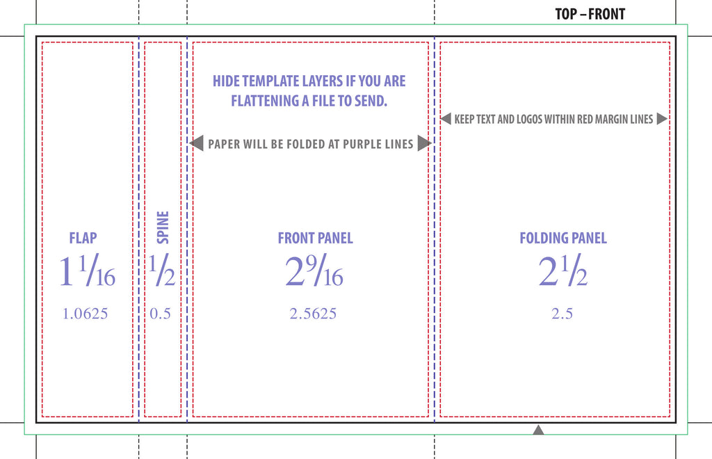 50 Professionally Printed 4-Panel J-Cards - Double Sided w/ Scoring