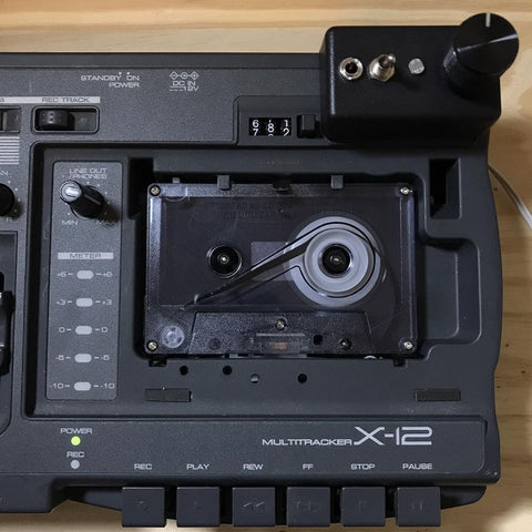 Fostex X-18 4-track Cassette Recorder w/ Speed Modifications