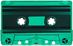 50 Custom Loaded Blank Cassettes w/ 50 Norelco Boxes