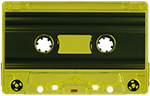 100 Custom Loaded Blank Cassettes