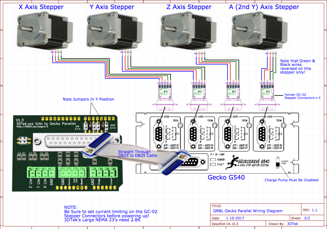 Gecko Circuit Board Wiring Diagram Library Nema 23 Stepper Motor Grbl Parallel Diagrams 3dtek