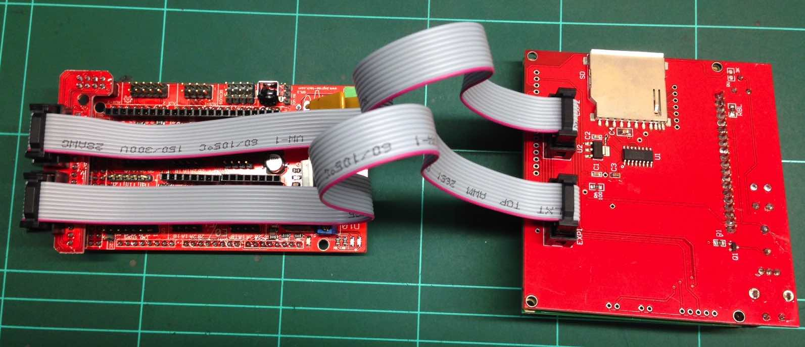 Not Another Ramps Tutorial 3dtek Ramps14 Geeetech Wiki Note That The Lcd Controller Wont Appear To Work Until You Have Configured Software And Told It There Is An Interface Manage