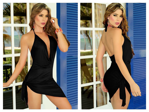 AM PM 4797 Dress Color Black - Casual Dress - 365Me Shapewear