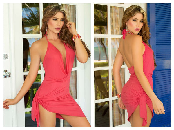 AM PM 4797 Dress Color Coral