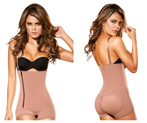 Ann Chery 5168 Powernet Melanie Shapewear Color Brown - Control Bodysuits - 365Me Shapewear