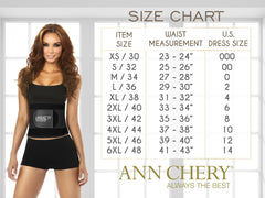 Ann Chery 1044 Powernet Titi Strapless Color Black - Control Bodysuits - 365Me Shapewear