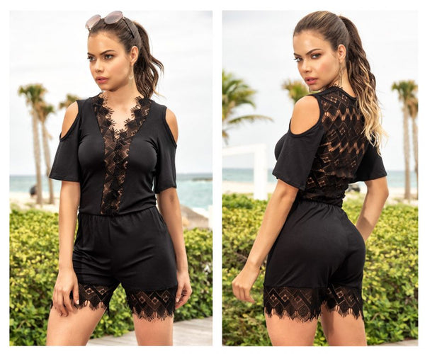 Mapale 5753 Romper Color Black
