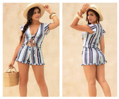 Mapale 5755 Romper Color Stripes