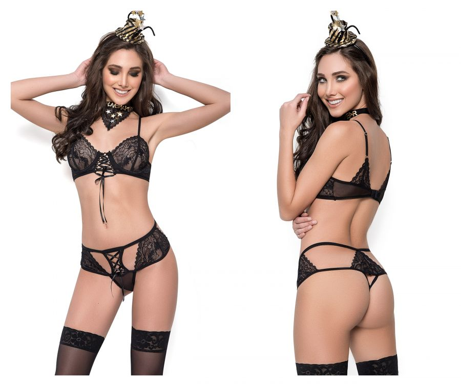 Mapale 6368 New Year Eve Costume Outfit Color Black
