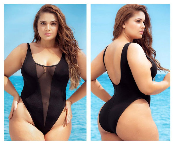 Mapale 6600X One Piece Swimsuit Color Black