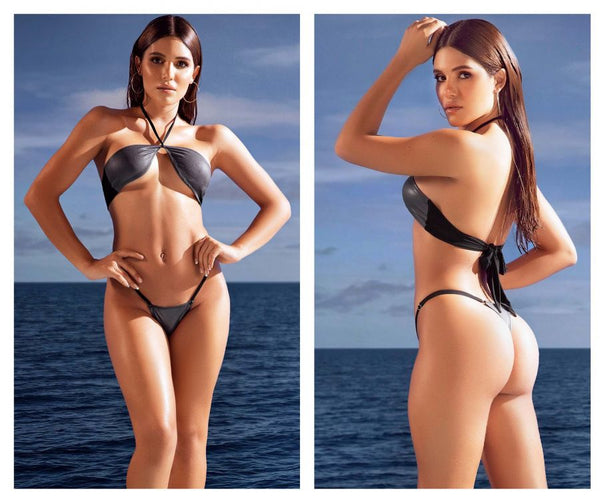 Mapale 6607 Two Piece Swimsuit Color Gun Metal Gray