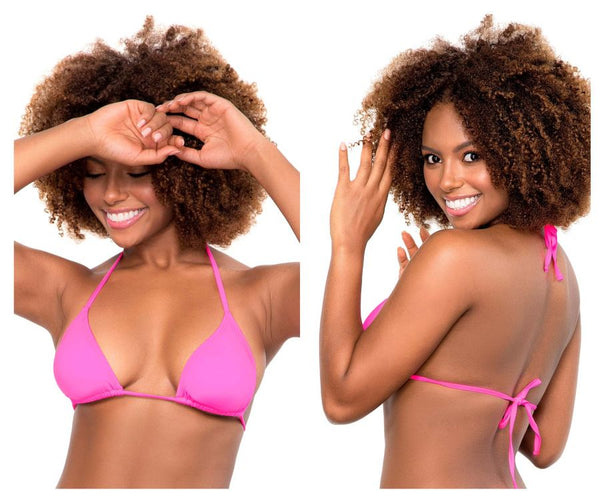Mapale 6646 Triangle Top Color Hot Pink
