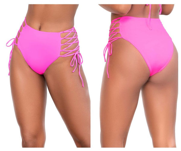 Mapale 6649 High Waist Bottom Color Hot Pink