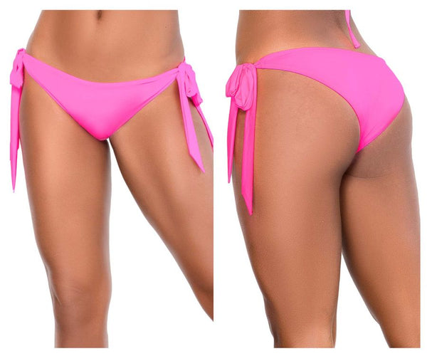 Mapale 6650 Side Tie Bottom Color Hot Pink