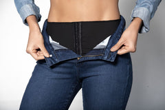 Mapale D1912 Butt Lifting Jeans with Body Shaper (Shaper has two hook Adjustments) Color Blue - Jeans - 365Me Shapewear