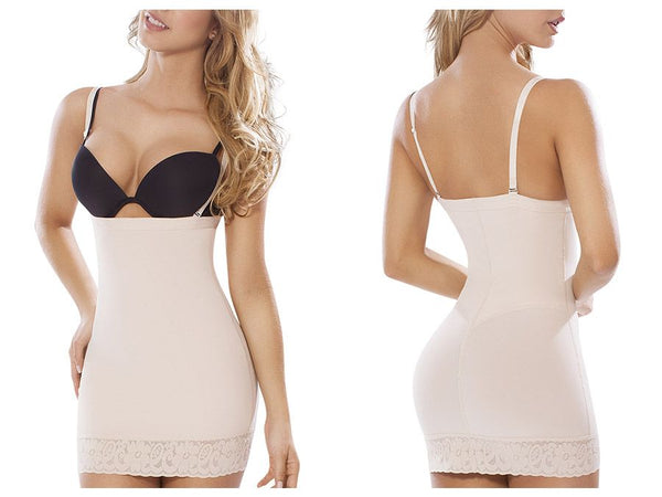 Moldeate 13001 Full Slip Shapewear Color Nude
