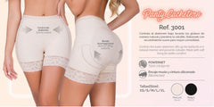 Moldeate 3001 Shorts Style Butt Lifter Shaper Color Beige