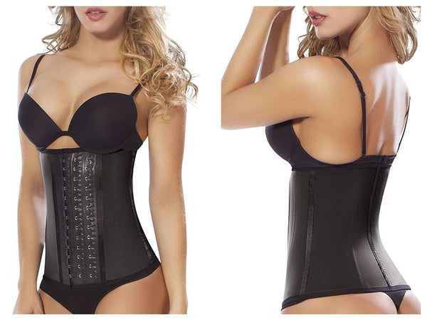 Moldeate 8031 (8091) Workout Waist Cincher Color Black - Waist Cinchers - 365Me Shapewear