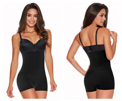 TrueShapers 1235 Hi-Waist Boyshort Color Black