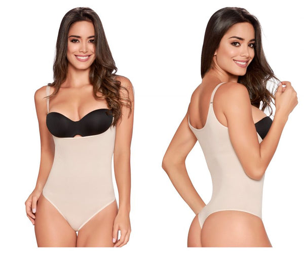TrueShapers 1236 Slimming Romper Color Beige