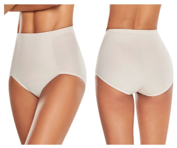 TrueShapers 1273 High-Waist Control Panty with Butt Lifter Benefits Color Beige