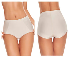 TrueShapers 1275 Mid-Waist Control Panty with Butt Lifter Benefits Color Beige