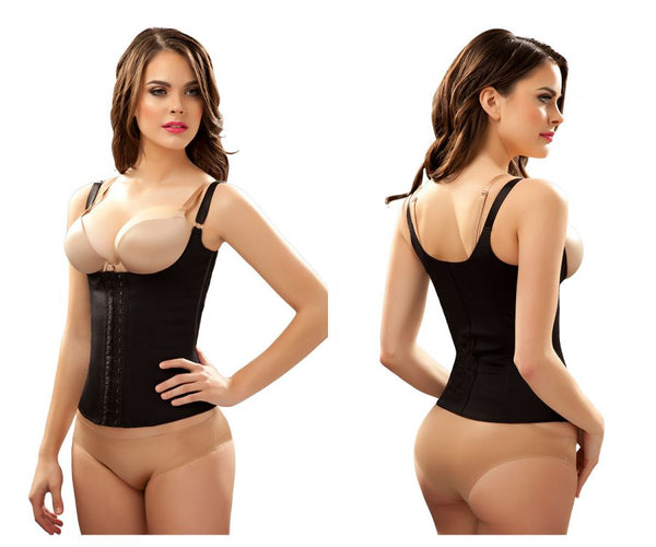 Vedette 100 Renee Under Bust Waist Cincher Color Black Plus