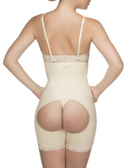 Vedette 504 Isabelle Strapless Mid Thigh Body w/ Buttock Enhancer Color Nude