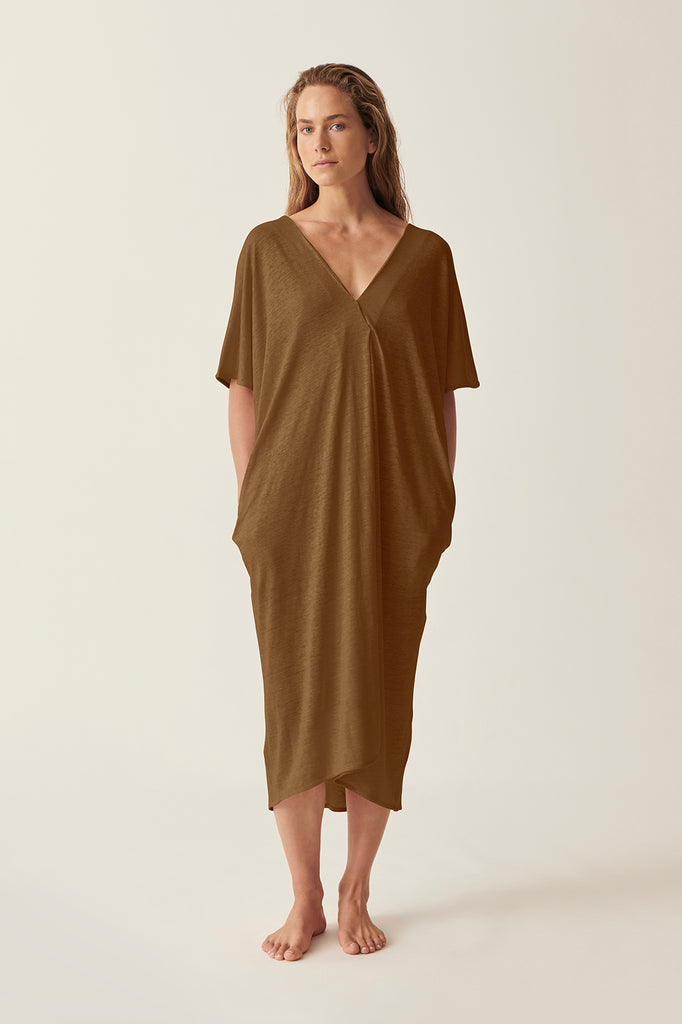 Olive Martine V Neck Dress