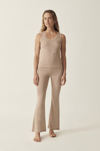 Camel Martine Flare Pant