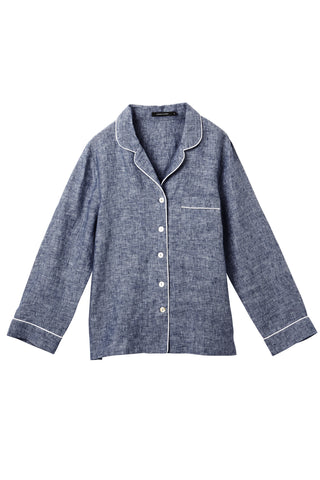 Denim Valentine Long Sleeve Shirt