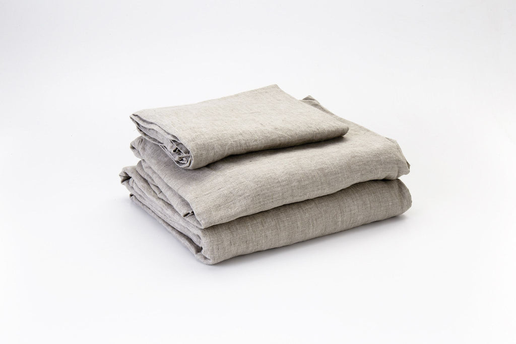 Husk French Linen Sheet Set