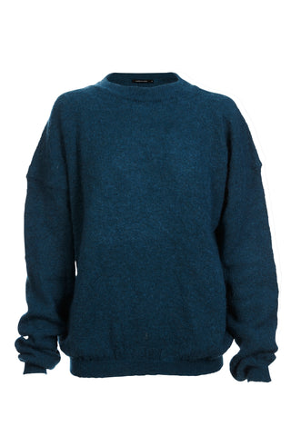 Emerald Ebony Over Sized Mohair Jumper