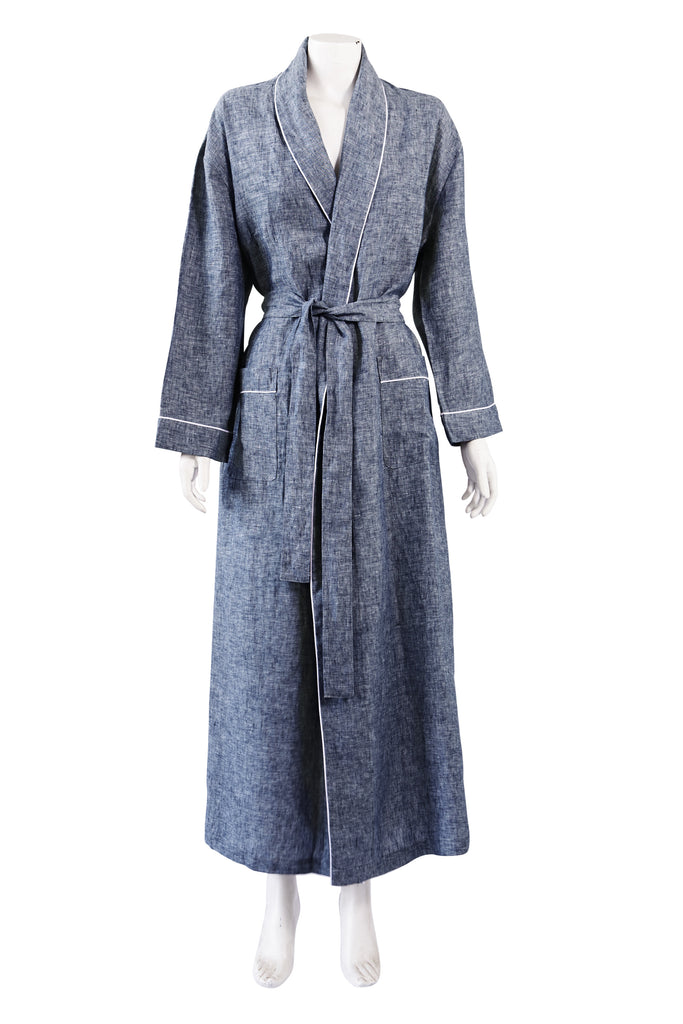 Denim Valentine Robe