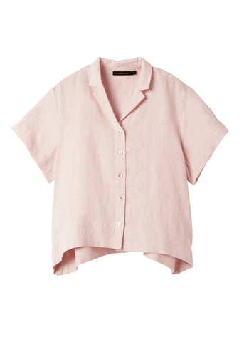 Tea Rose Evie Short Sleeve Shirt