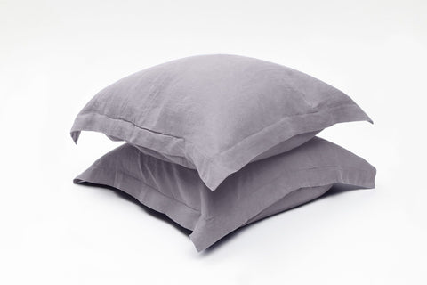 Mist French Linen European Pillowcase Set