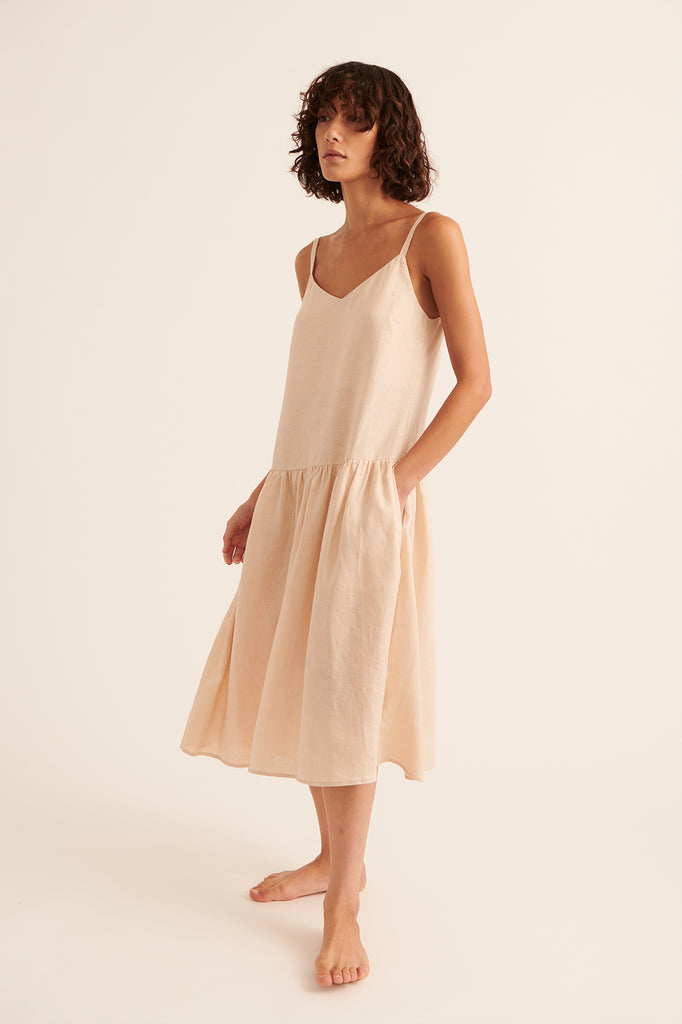 Desert Tatum Drop Waist Dress