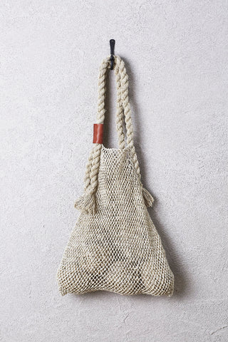 Jumbo Hemp String Bag - Natural