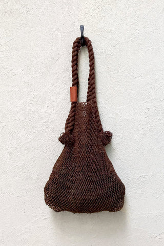 Jumbo Hemp String Bag - Acacia