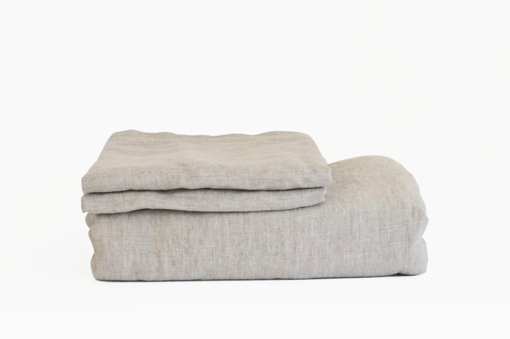 Driftwood French Linen Duvet Set