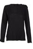 Midnight Harlow Long Sleeve Scoop Neck