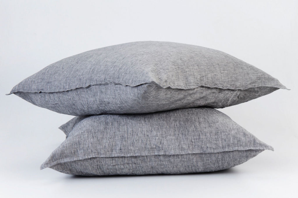 Fog French Linen European Pillowcase Set