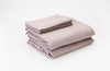 Pink Salt French Linen Sheet Set