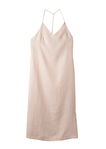 Tea Rose Raven Midi Singlet Dress