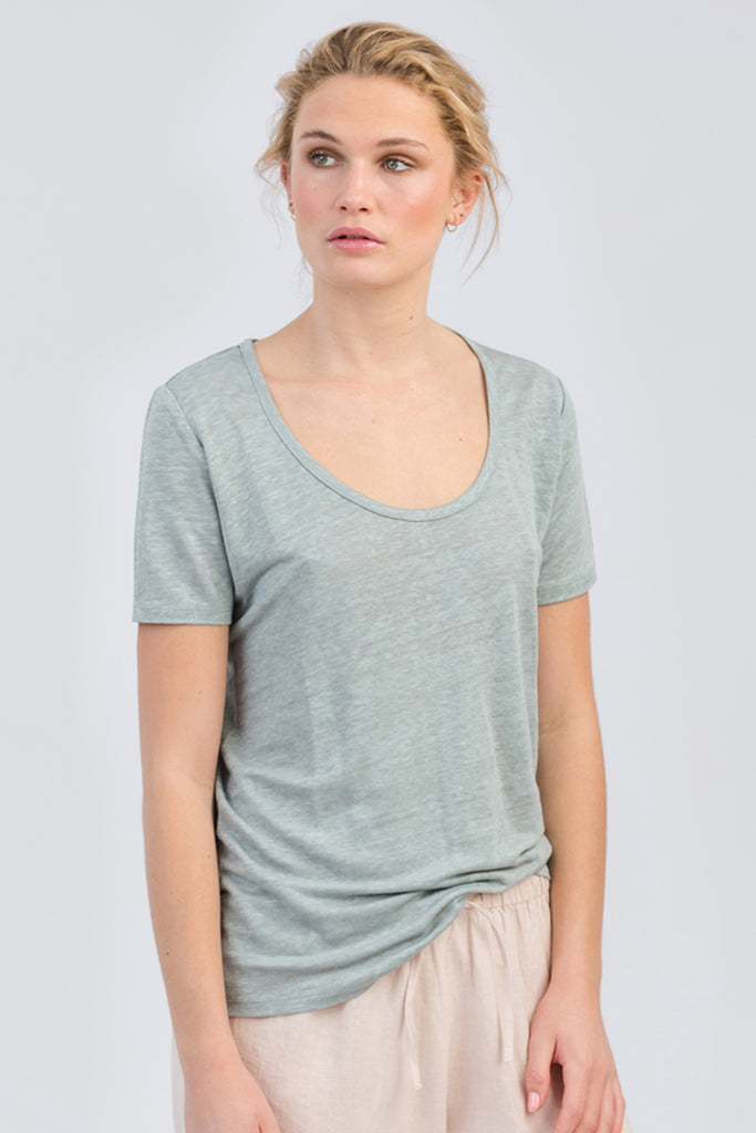 Bamboo Harlow Scoop Neck