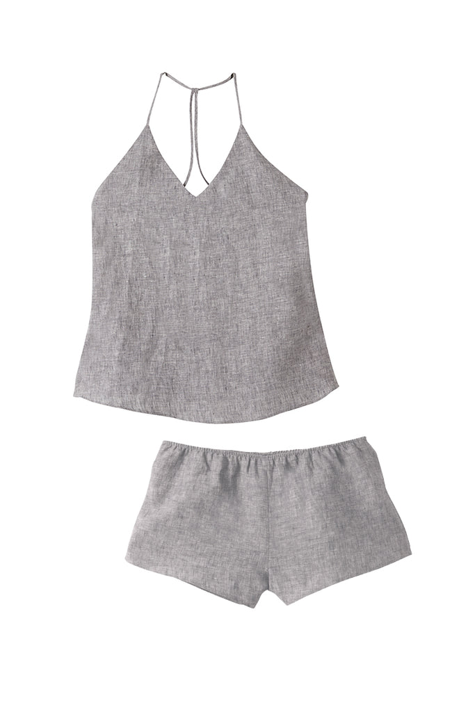 Fog Raven Singlet & Shorts Set - REDUCED FURTHER 50% OFF