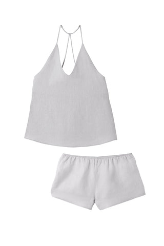 Silver Raven Singlet & Shorts Set - REDUCED FURTHER 50% OFF